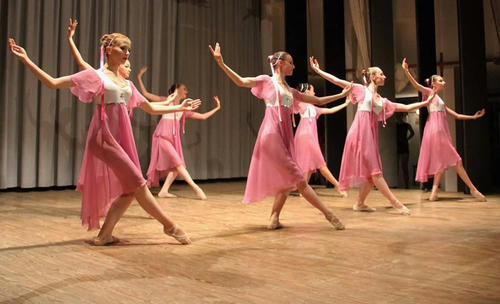 Vestiamo l'arte: ballerine in chiffon